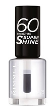 Lac de unghii Rimmel 60 Seconds Shine, 740 Clear