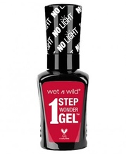 Lac de unghii Wet n Wild 1 Step Wonder Gel Nail Color Crime of Passion, 7 ml