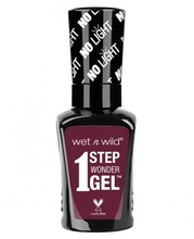 Lac de unghii Wet n Wild 1 Step Wonder Gel Nail Color Left Marooned, 7 ml