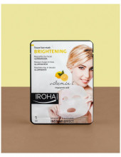 Masca iluminatoare Iroha Tissue Face Mask Brightening Vitamin C+Hyaluronic Acid
