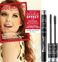 Mascara Deborah Double Effect Volume&Length Mascara Black