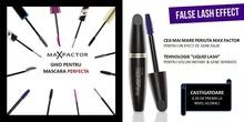Mascara Max Factor  False Lash Effect rezistent la apa, Black