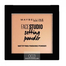 Pudra de fixare matifianta Maybelline New York Face Studio Setting Powde 003 Porcelaine