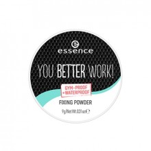 Pudra pentru fixarea machiajului Essence YOU BETTER WORK! FIXING POWDER