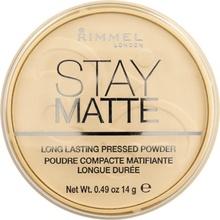 Pudra Rimmel Stay Matte, 006 Champagne