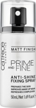 Spray pentru fixarea machiajului Catrice Prime And Fine Anti-Shine Fixing Spray 50ml