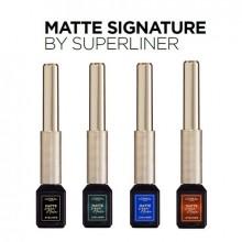 Tus lichid waterproof L'Oreal Paris Matte Signature by SuperLine Emeraude 6 ml