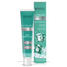 Crema de noapte Revuele Hydralift Hyaluron night cream-fluid 50 ml