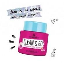 Dizolvant Essence CLEAN & GO EXPRESS NAIL POLISH REMOVER  30ml