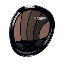 Fard de pleoape Deborah Perfect Smokey Eye Palette 06 Soft Smokey, 5 g