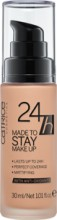 Fond de ten Catrice 24h Made To Stay Make Up 025 Warm Beige