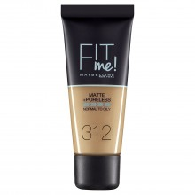 Fond de ten matifiant Maybelline New York Fit Me Matte & Poreless  312 Golden 30ml