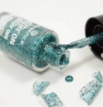 Lac de unghii Essence glitter on glitter off peel off nail polish 06