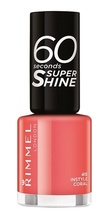 Lac de unghii Rimmel 60 Seconds Shine, 415 Instyle Coral