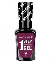 Lac de unghii Wet n Wild 1 Step Wonder Gel Nail Color Under My Plum, 7 ml