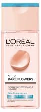 Lapte demachiant L' Oreal Paris Rare Flowers pentru ten normal și mixt 200 ml