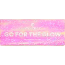 Paleta iluminatoare Essence Go for The Glow  Highlighter Pallette 01The Colds