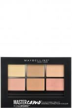 Paleta pentru corectarea imperfectiunilor Maybelline New York Master Camo 02 Medium Skin - 6.5g