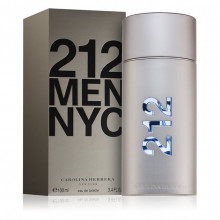 Carolina Herrera 212 NYC Men EDT Apa de Toaleta