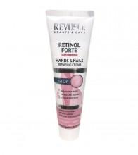 Crema pentru maini si unghii Revuele Retinol Forte Hands&Nails Repairing Cream 100ml