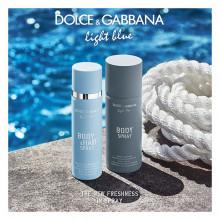Dolce & Gabbana Light Blue Spray Corp & Par 100ml