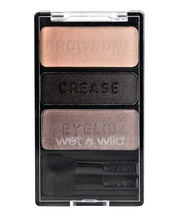 Fard de pleoape Wet n Wild Color Icon Eyeshadow Trio Silent Treatment, 3.5 g