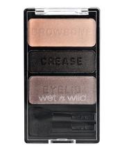 Fard de pleoape Wet n Wild Color Icon Eyeshadow Trio Silent Treatment, 3.5 g