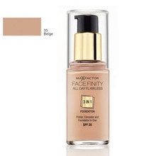 Fond de ten Max Factor All Day Flawless 3 in 1 55 Beige