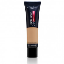 L'Oreal Paris Infaillible 24H Matte Cover fond de ten matifiant 230, Miel, 30ml