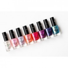 Lac de unghii Catrice GALACTIC GLOW TRANSLUCENT EFFECT NAIL LACQUER 04 Fast As Lightning Speed