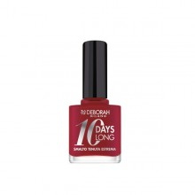 Lac de unghii Deborah 10 Days Long Nail Enamel 886 Vintage Red