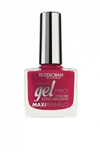 Lac de unghii Deborah Gel Effect Nail Enamel 65 Red Passionate, 8.5 ml