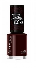 Lac de unghii Rimmel 60 Seconds 901 Darkest Desires 8ml