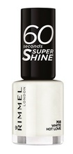 Lac de unghii Rimmel 60 Seconds Shine, 703 White hot love