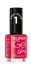 Lac de unghii Rimmel Super Gel , 041 Darling Dahlia