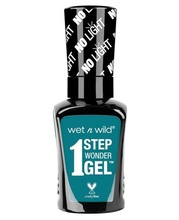 Lac de unghii Wet n Wild 1 Step Wonder Gel Nail Color Un-Teal Next Time, 7 ml