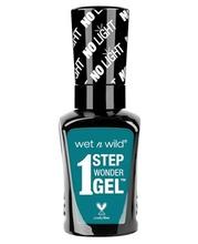 Lac de unghii Wet n Wild 1 Step Wonder Gel Nail Color Un-Teal Next Time, 7 ml