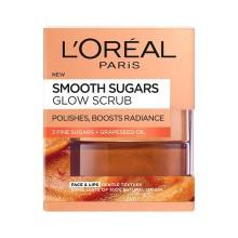 Scrub exfoliant cu zahar pentru ten tern L'Oreal Paris Smooth Sugars 50 ml