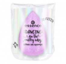 Buretel machiaj din silicon Essence dancing on the milky way glitter sili sponge 01