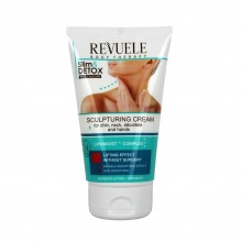 Crema Revuele remodelanta cu cofeina pentru gat, decolteu, barbie si maini - Revuele Sculpturing Cream with Caffeine for Chin, Neck, Décolleté and Han