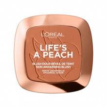Fard de obraz L'Oreal Paris Woke Up Like This 01 Life`s A Peach, 9g