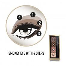 Fard de ochi mat Max Factor Smokey Eye Drama Kit 20 RICH ROSES