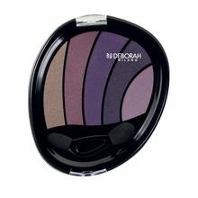Fard de pleoape Deborah Perfect Smokey Eye Palette 04 Violet Smokey, 5 g