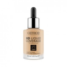 Fond de ten Catrice HD LIQUID COVERAGE FOUNDATION 036 Hazelnut Beige