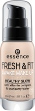 Fond de ten Essnce FRESH & FIT AWAKE MAKE UP 10 Fresh ivory 30ml