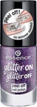 Lac de unghii Essence glitter on glitter off peel off nail polish 04
