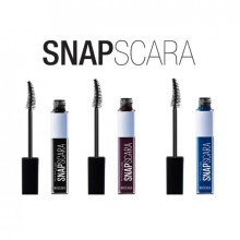 Maybelline New York Snapscara Mascara colorata -9.5ml, Black Cherry