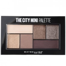 Maybelline New York The City Mini Palette Paleta de farduri - 6g, 410 Chill Brunch Neutral