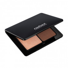 Paleta iluminatoare RADIANT STROBING & SCULPTING PALETTE No 2 MEDIUM DARK