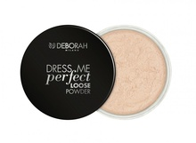 Pudra Deborah Dress Me Perfect Loose Powder 01-Light Pink